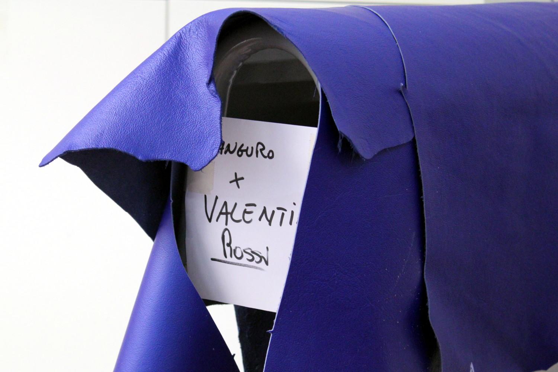 Des peaux de kangourou mises de côté pour la prochaine combinaison de Rossi.