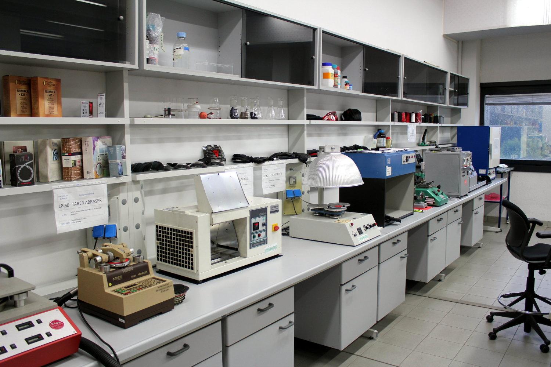 Aperçu du laboratoire de test des matériaux