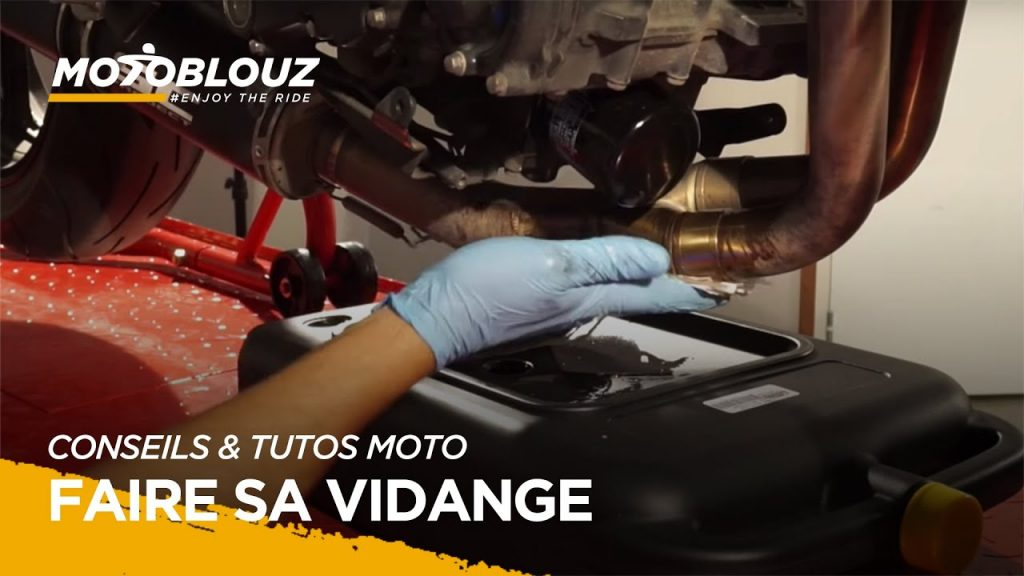 Comment faire sa vidange moto ?