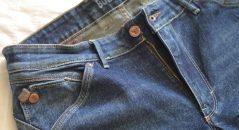 Le zip et la poche pression du jean Bolid'Ster Ride'Ster