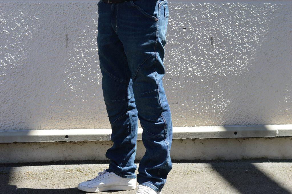 Le jean Bolid'Ster est parmi les plus légers du marché