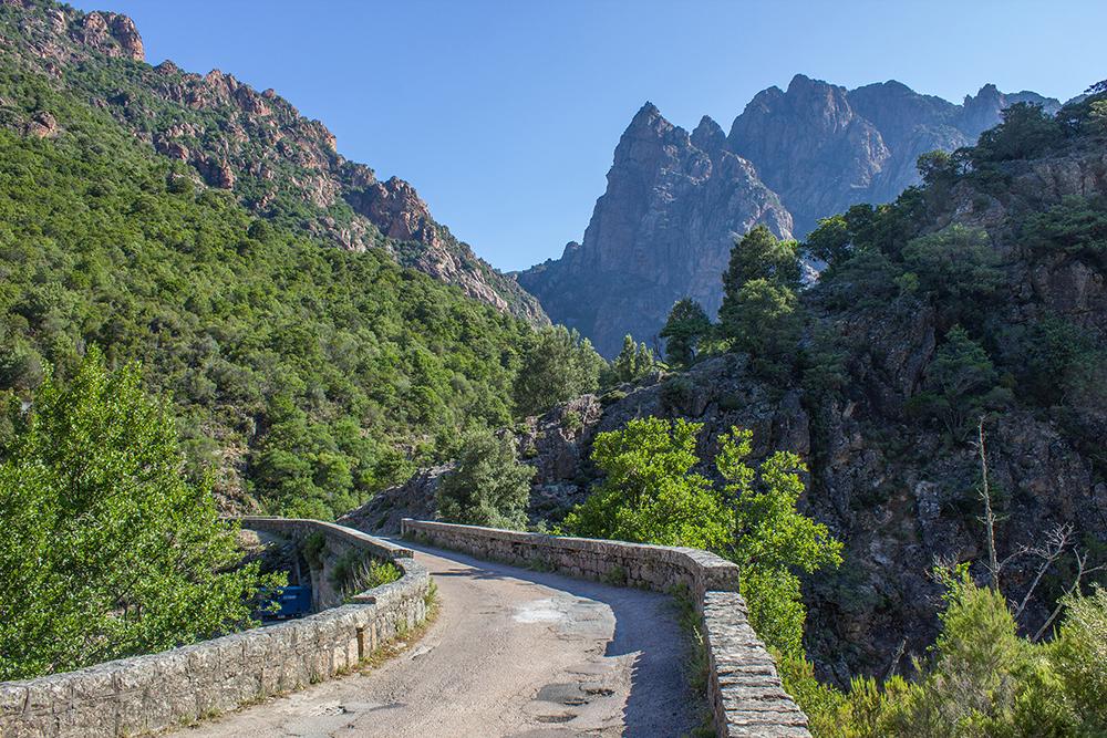 La Corse : paradis des motards