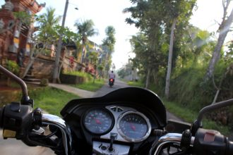 Pas besoin de rouler vite pour se faire plaisir à Bali !