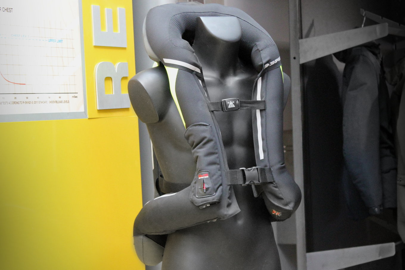 L'airbag Spidi Full DPS, mécanique et protecteur
