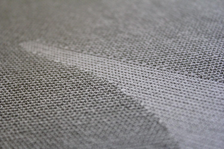 Détail du textile polypropylène qui entre dans la composition du DXR Fresh