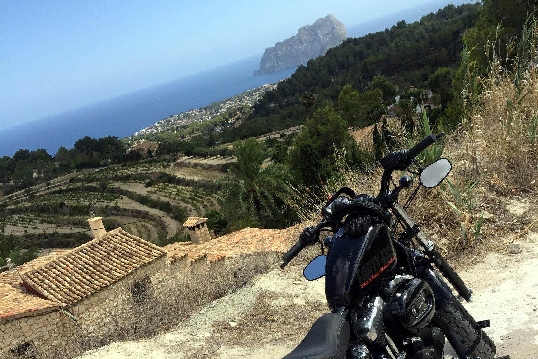 L'Espagne à moto, de Valencia à Benissa
