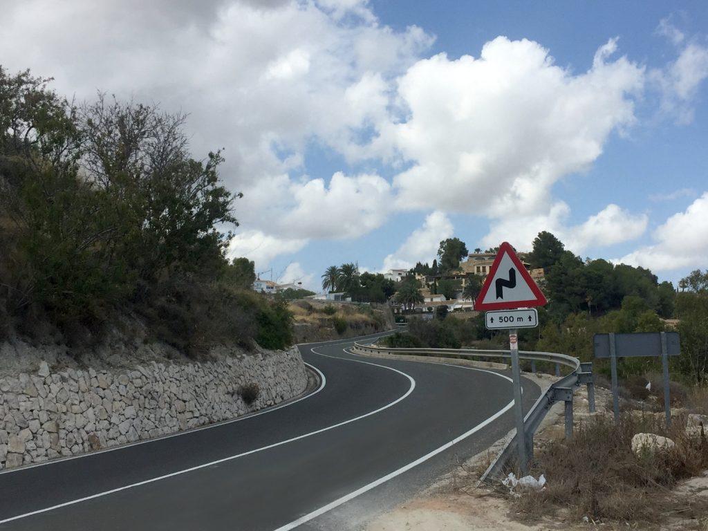 Des routes au revêtement digne de circuits MotoGP !