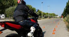 Les épreuves de maniabilité à différentes vitesses, la partie la plus redoutée du plateau !