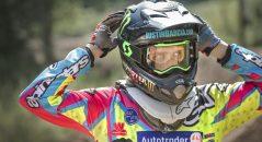 Justin Barcia a fait partie des premiers testeurs du masque Scott Prospect