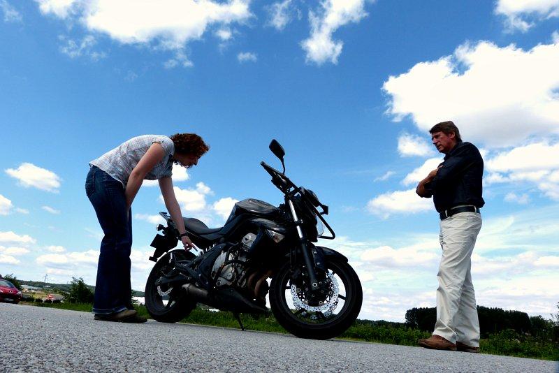 Le candidat doit connaître les douze point de vérification spécifiques à sa moto