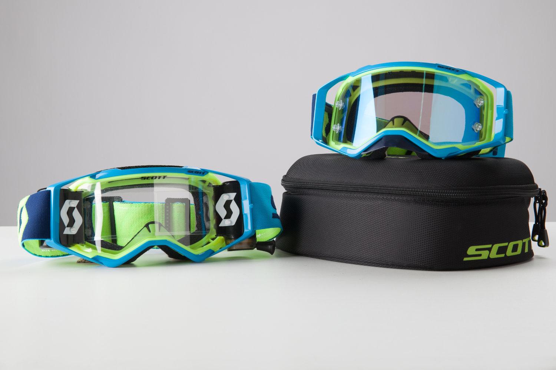 Le masque Scott Prospect avec et sans le WFS 50