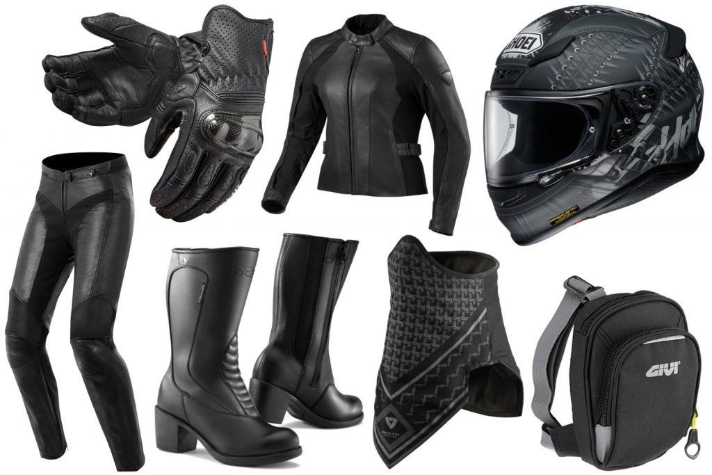 Le full black, l'équipement motarde que je trouve le plus classe !