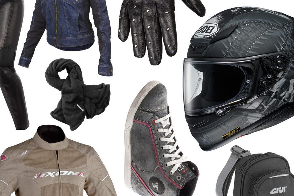 Équipement motarde, la sélection de Chloé