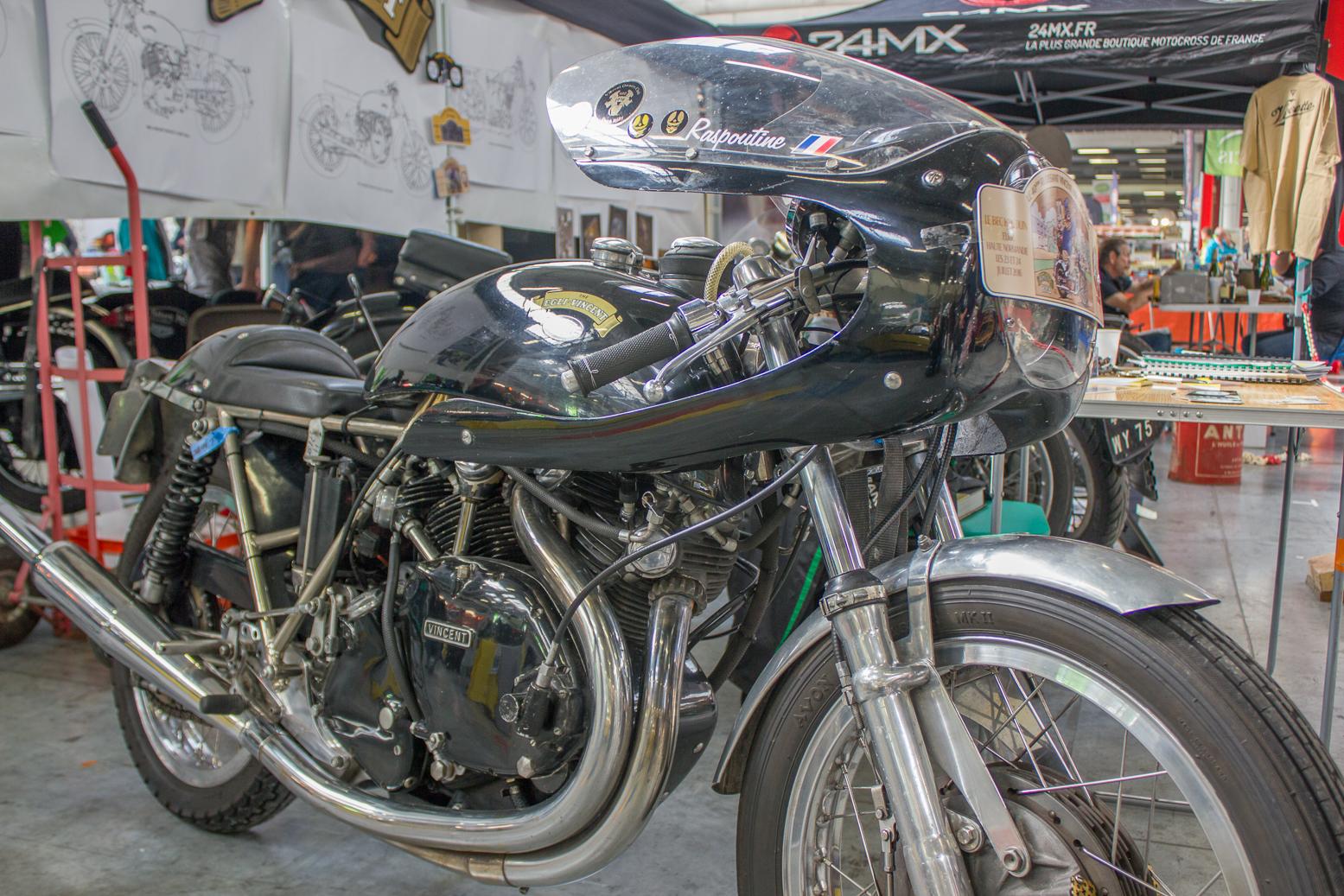 Les motos The Vincent