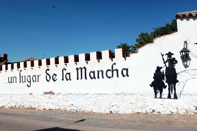 L'ombre de Don Quichotte plane partout dans la Mancha...