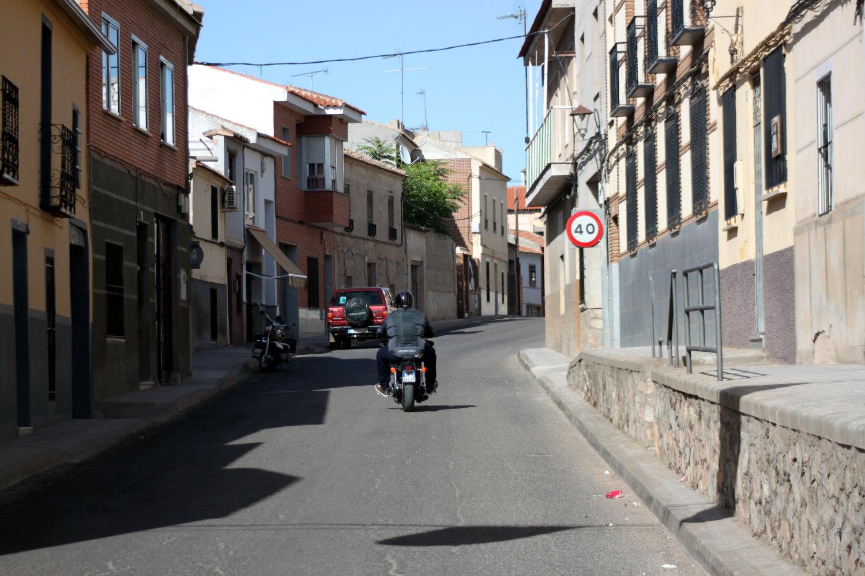 Quitanar del Rey, petite ville sur la route de Toledo