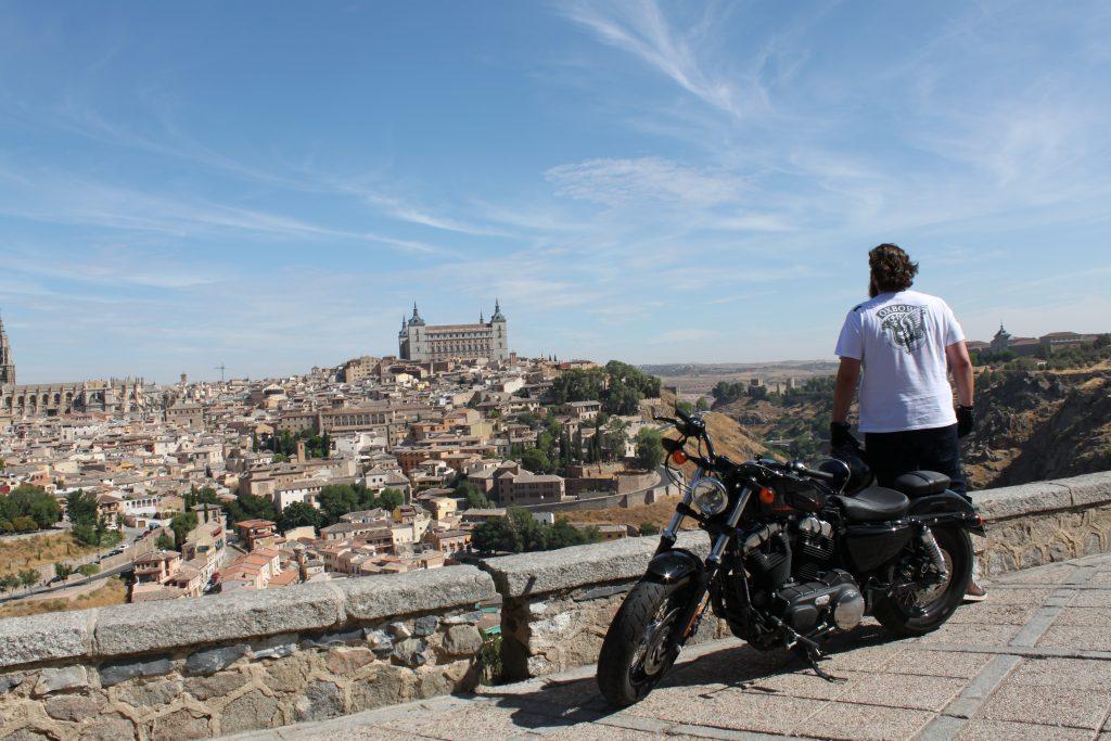 Espagne en moto