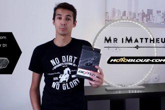 Intercom moto Dexter D-1, l'essai vidéo par Mr iMATTHEUS