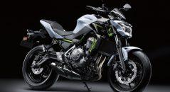 Kawasaki Z650 modèle 2017, moto permis A2 bridable à 47 chevaux