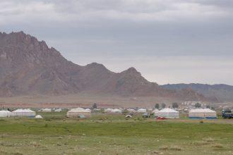 Baptiste Régné, en Mongolie