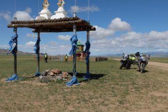 Baptiste Régné en Mongolie