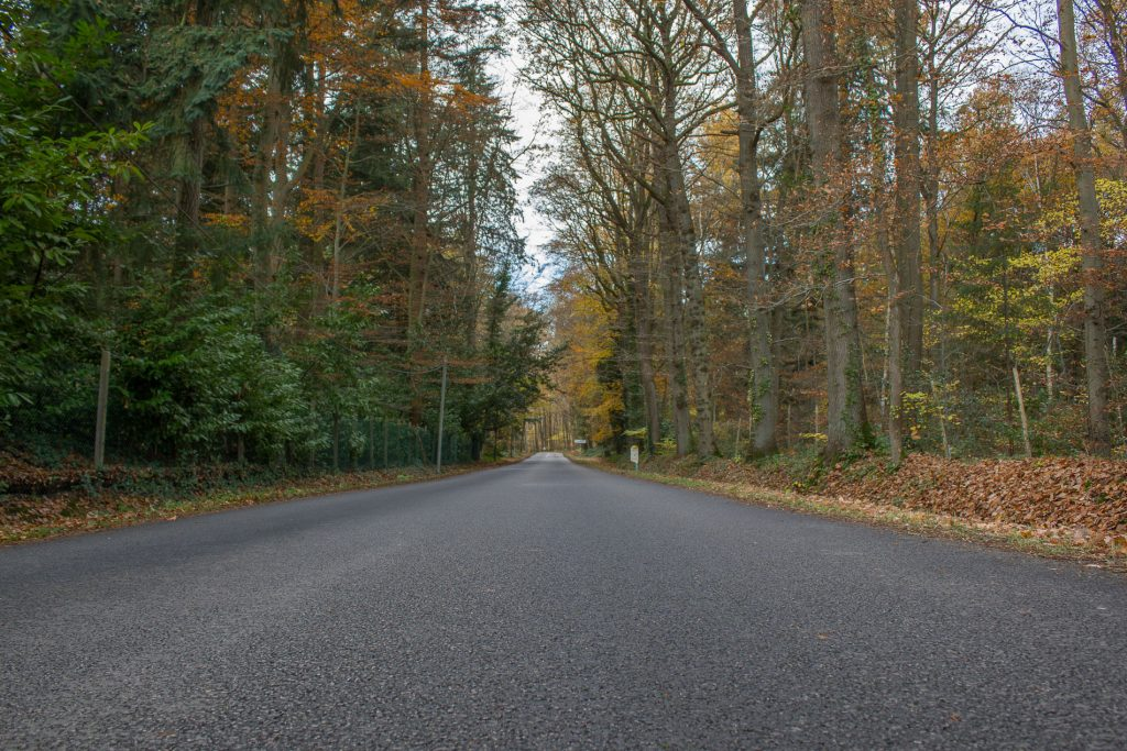 Le rallye amateur se fait sur route ouverte, mais nous ne croisons pas grand monde