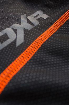 Le textile du DXR Wintercore en gros plan