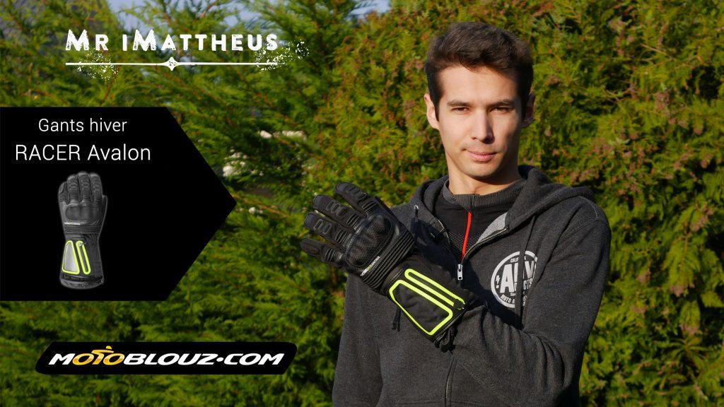 Essai vidéo des gants Racer Avalon par MrImattheus