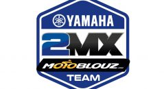 Le logo du Yamaha 2MX Motoblouz Racing Team