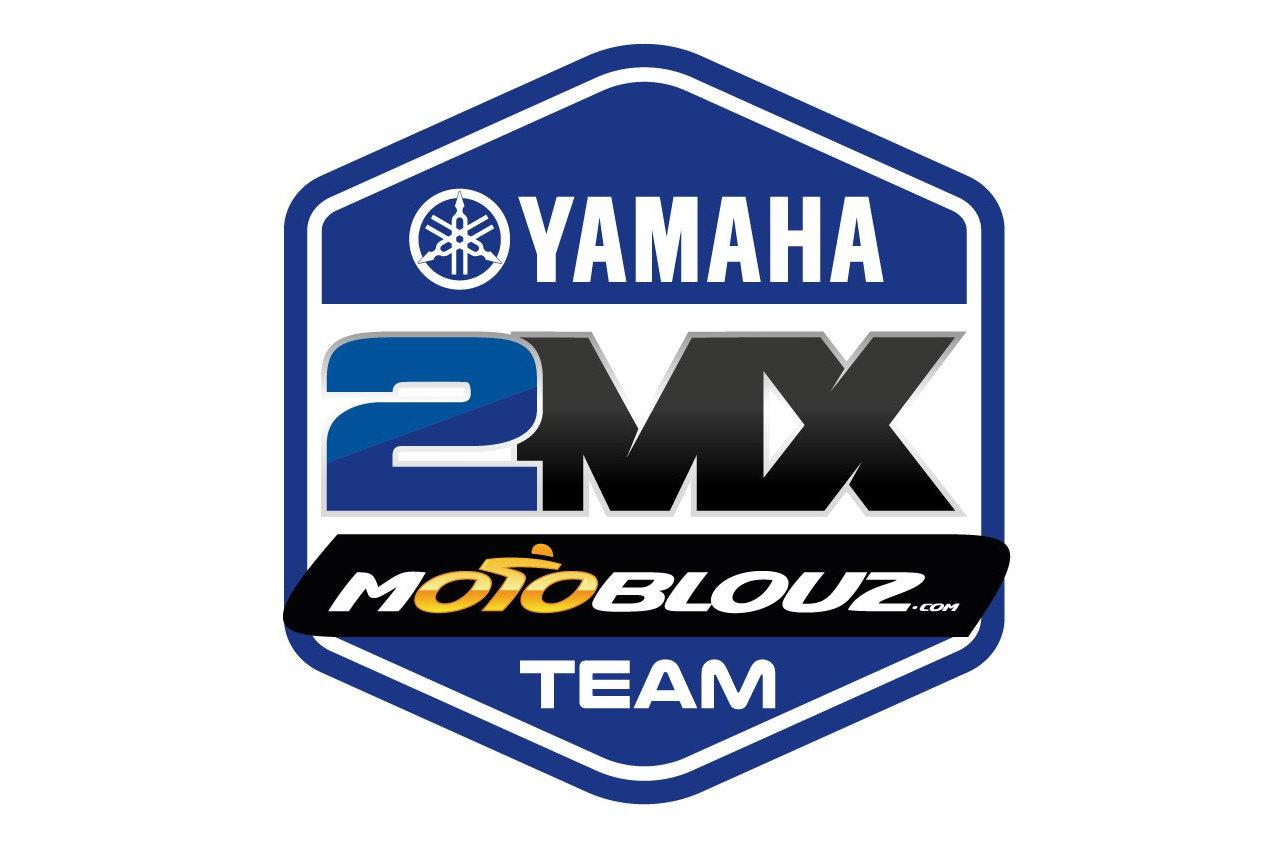 Le logo du Yamaha 2MX Motoblouz Racing Team