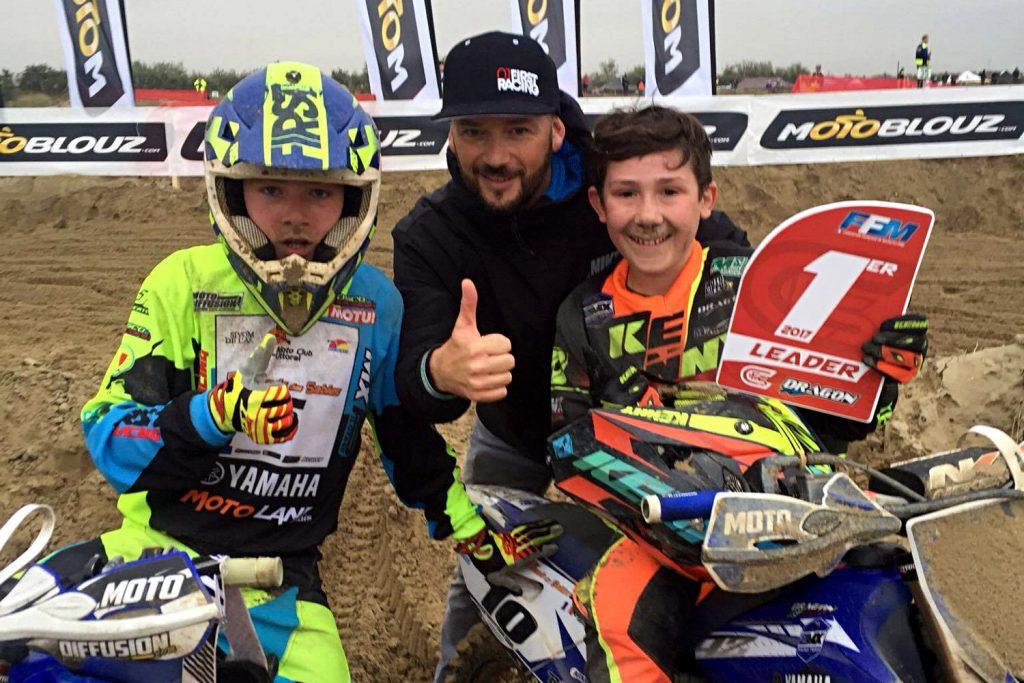 Les p'tits gars du Yamaha 2MX Motoblouz Team, Mathéo et Florian Miot, prendront le départ de l'Enduropale 2017