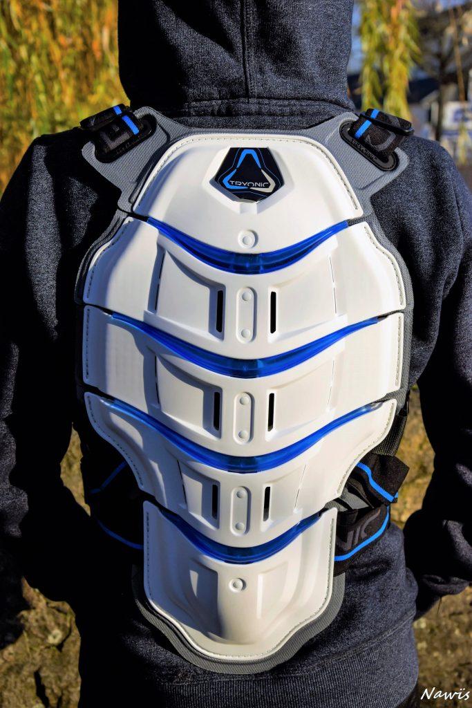La Dorsale Tryonic Feel 3.7 : la dorsale ergonomique, confortable et légère.