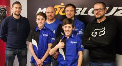 Le Yamaha 2MX Motoblouz Racing Team au grand complet !