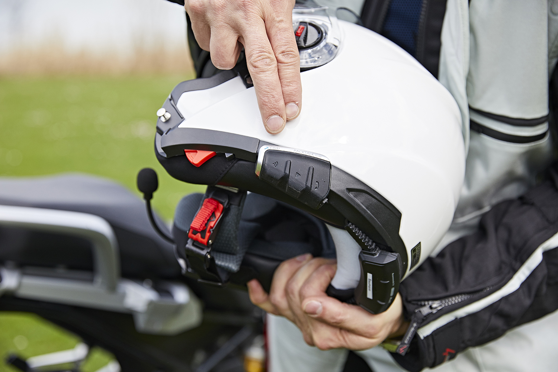Kit mains-libres et GPS moto