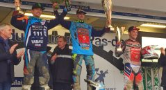 Richard Fura podium Enduropale