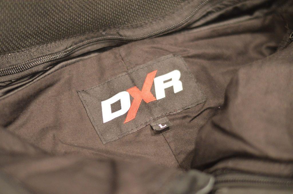La face intérieure du DXR KickBack
