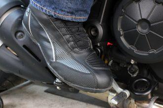 Présentation des baskets moto DXR Go-Fast
