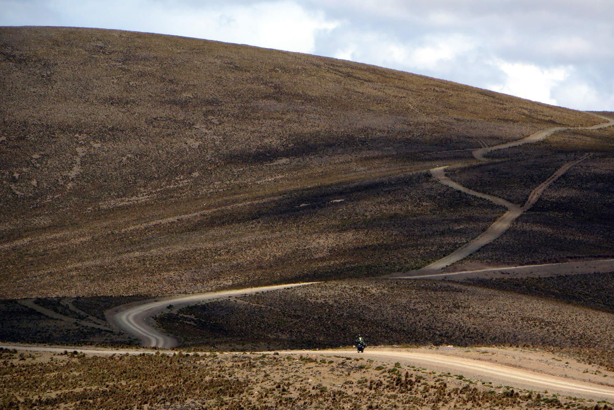 Paysage de colline bolivienne