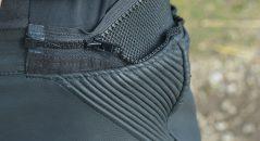 dxr pantalon zip raccord