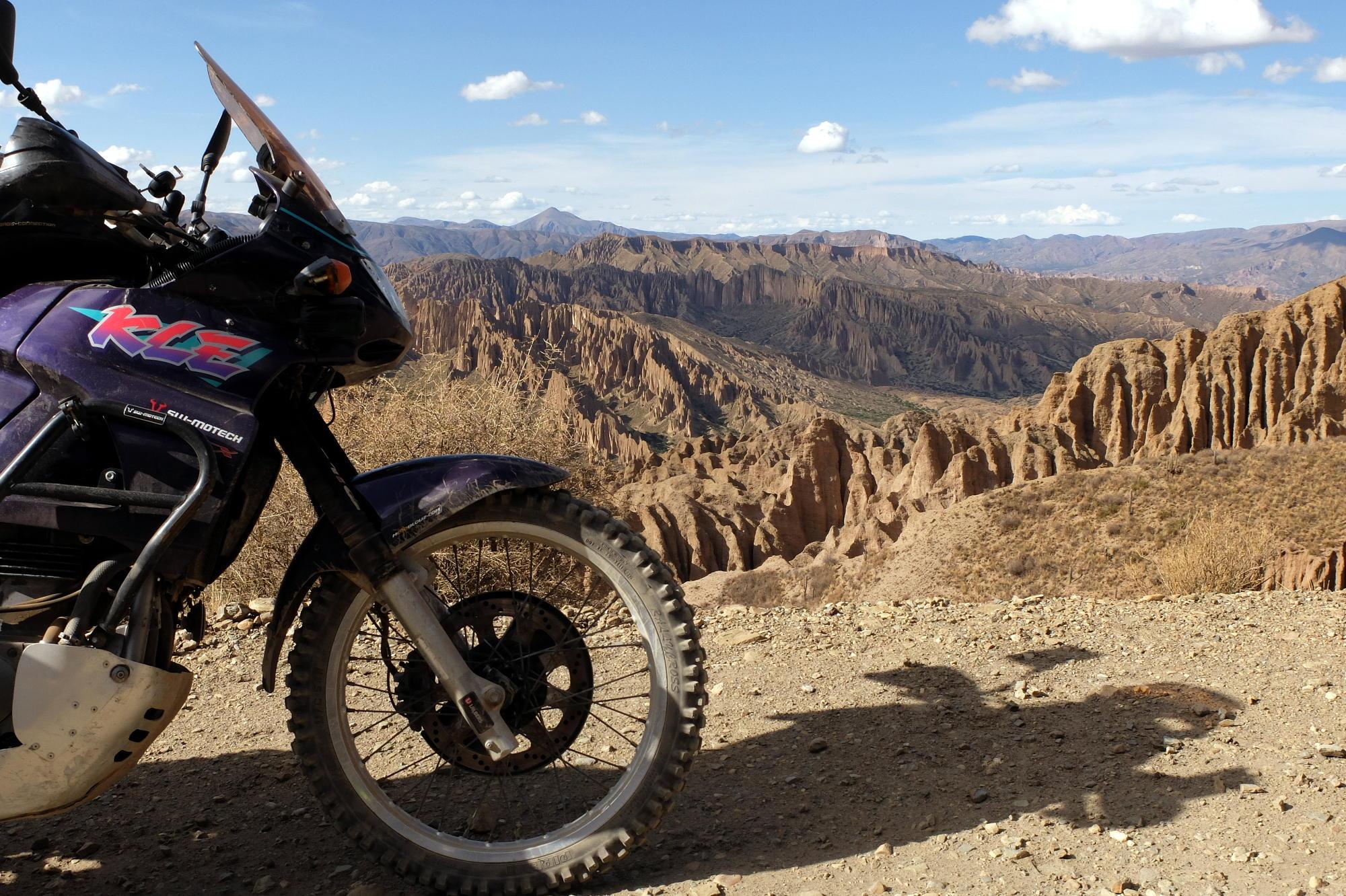 Le Dakar en KLE