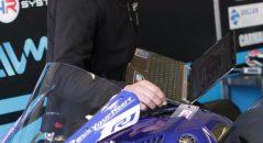 Télémétrie et réglages moto
