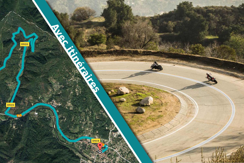 Routes a virages moto 2