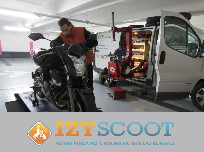 Garagiste 2 roues IZYSCOOT