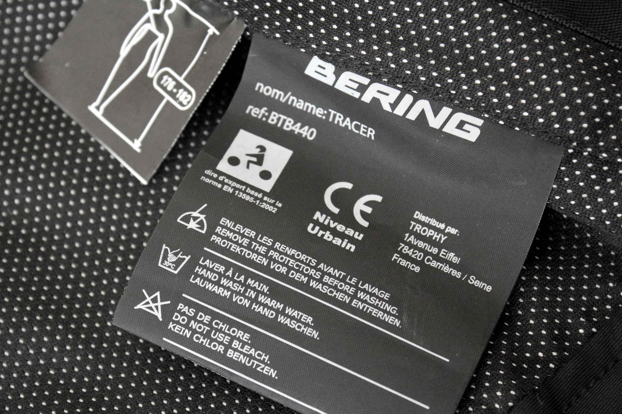 Etiquettes Bering Tracer