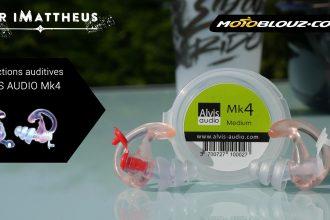 Essai vidéo protections auditives Alvis Audio Mk4