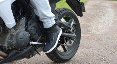 Des chaussures moto plutôt chaudes