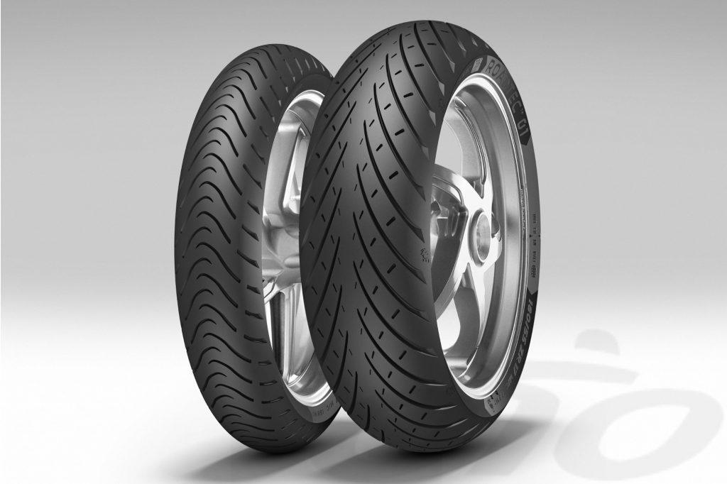 Les pneus route Metzeler Roadtec 01 sont disponibles en version HWM (Heavy Weight Motorcycles) pour les motos plus lourdes