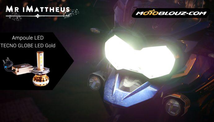 Ampoules LED Tecno globe Gold H4