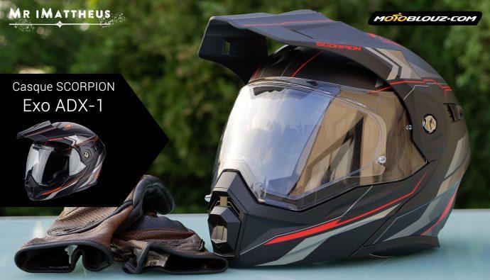 Test du casque Scorpion Exo ADX-1