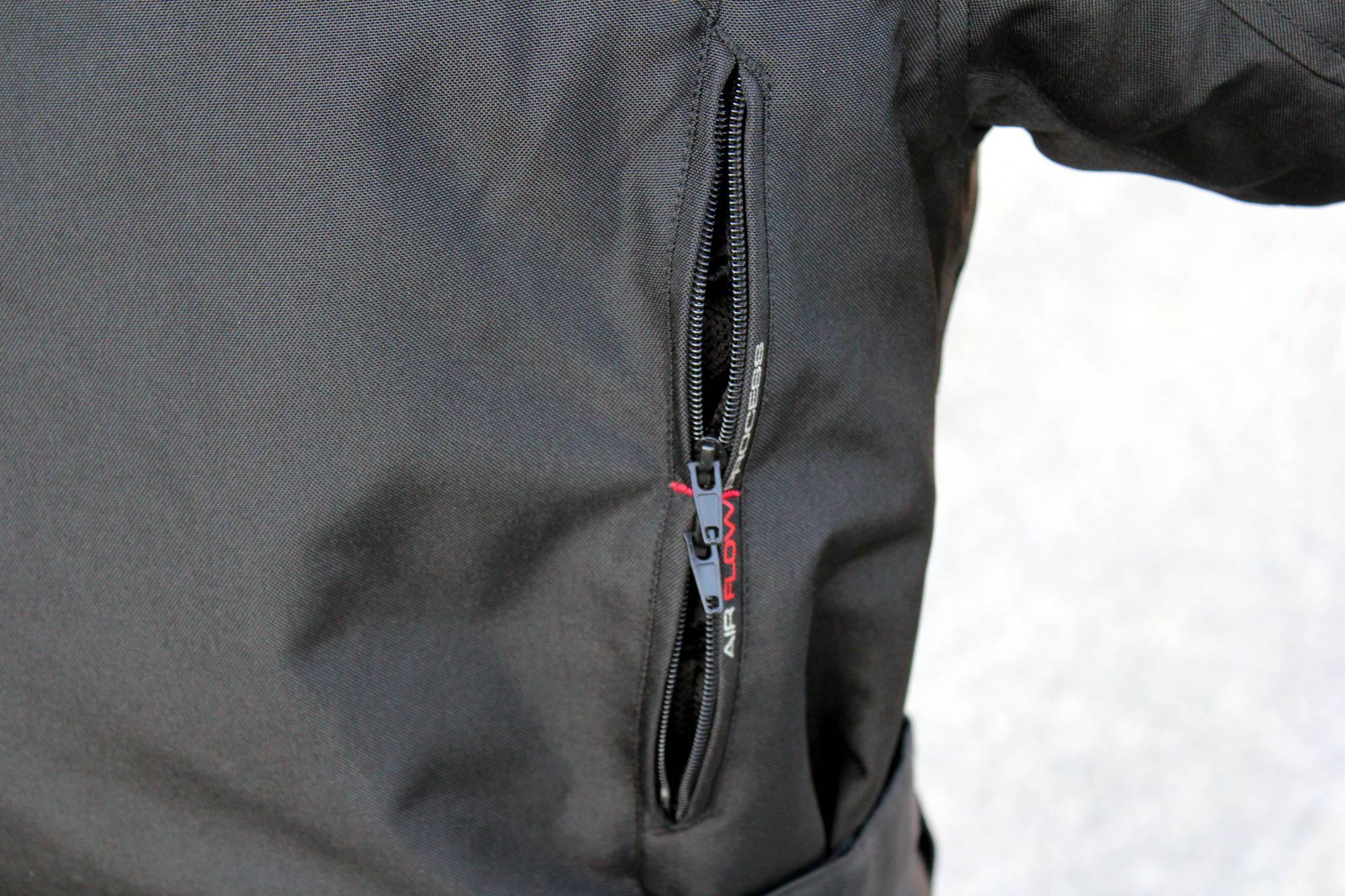Zip ventilation dos